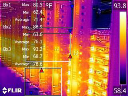 Infrared electrical contractors dallas ft worth tx for Electric motor repair fort worth